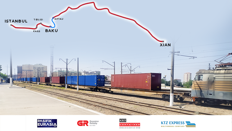 Continuous operation: another export block train from Turkey to China